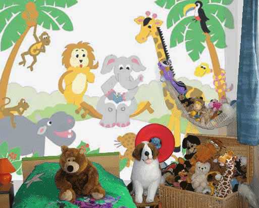 view in gallery - Cartoon Painting For Kids