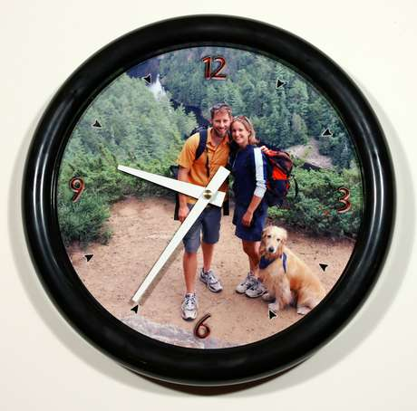 Personalized Photo Wall Clocks Great Ideas