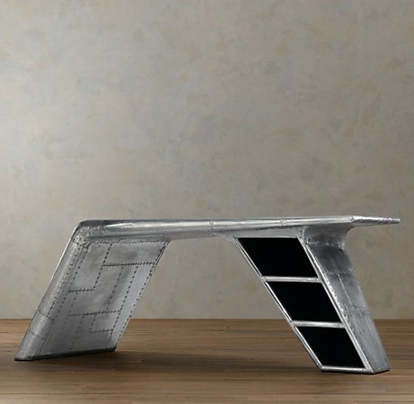 Airplane Wing Desk aviator wing desk