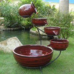 Ordinaire Solar Water Fountain For Outdoors
