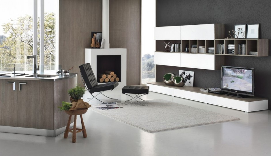 The milly kitchen from stosa cucine for Zona living moderna