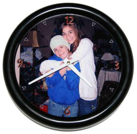 Elegant Personalized Photo Wall Clocks Good Looking