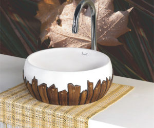 Colorful Ceramic Wash Basins from Simpolo