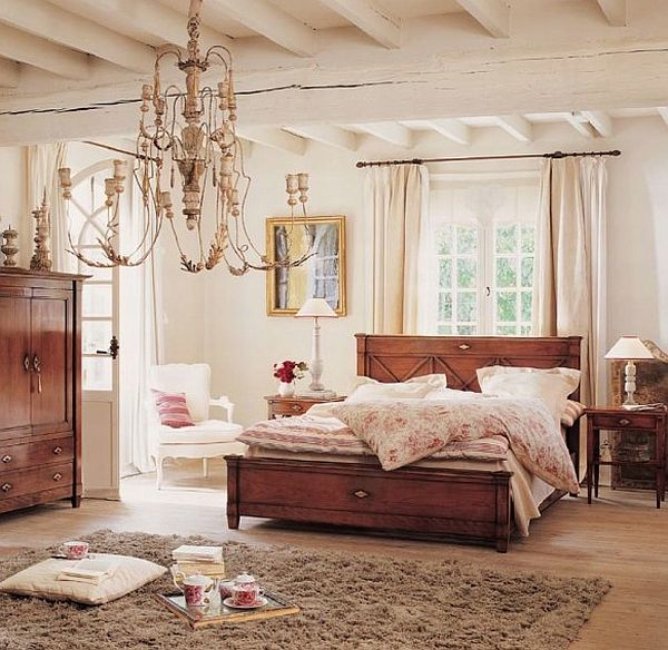 Baroque and medieval bedroom design ideas for Modern vintage bedroom designs