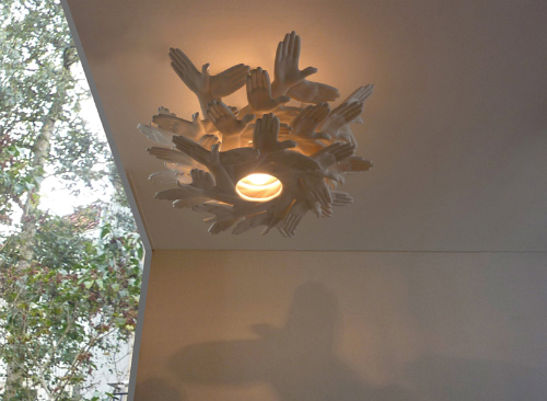 Nice View In Gallery. This Bird In Hand Lamp, Designed By J.P.Meulendijks ... Amazing Design