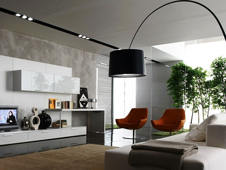 Contemporary vs modern style what s the difference for Modern look living room