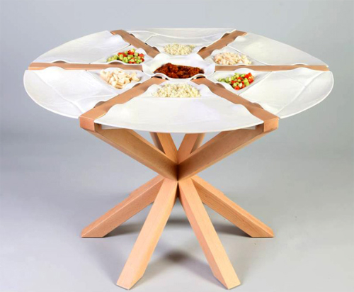 The Kitchen Table Built In Plates Is Your Solution. View In Gallery Amazing Design