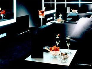 Black Hotel Room