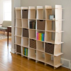 Delightful 5 Playful Shelving Units With Wavy Designs Amazing Design