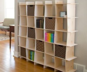 5 Playful Shelving Units With Wavy Designs