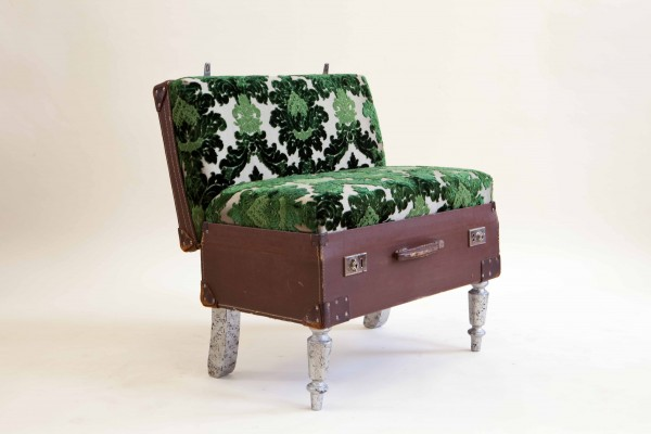 View In Gallery. The Suitcase Chair U2013 Green ...