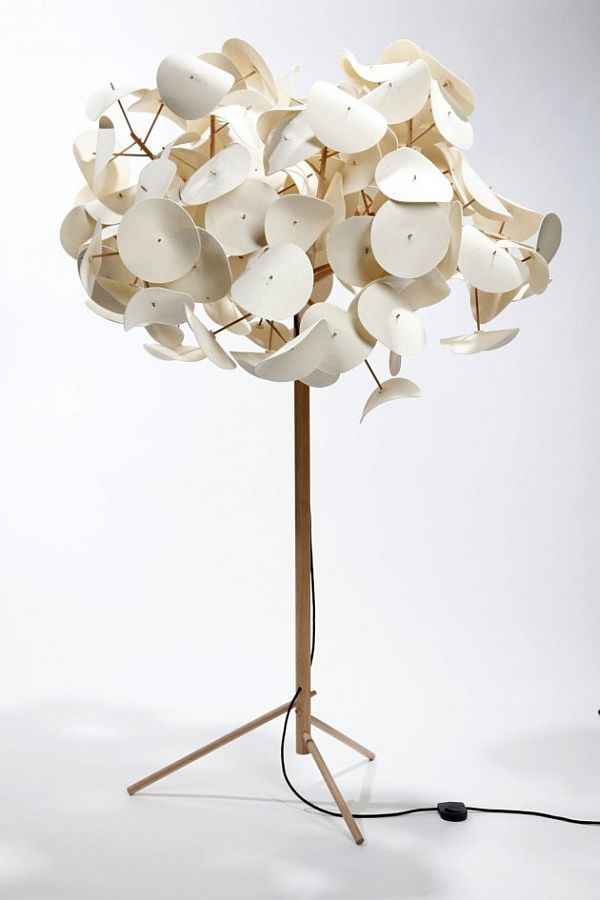 The Leaf Lamp By Peter Schumacher