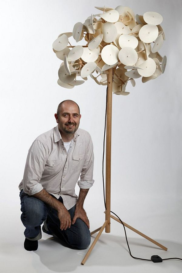 The Leaf Lamp By Peter Schumacher Images