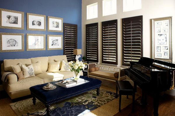 What color should i paint my living room for Should plantation shutters match trim