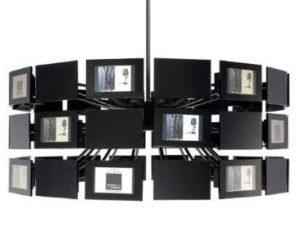 Unique Hanging Lights + Digital Photo Frames Nice Ideas