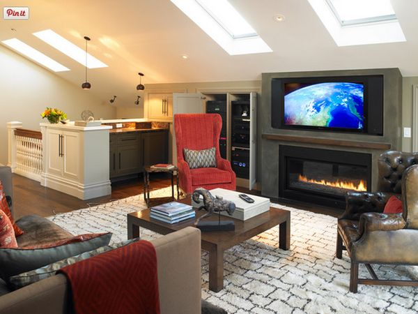 The main differences between a living room and a family room for What is a media room