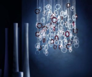 The Ginger Chandelier from Micron Lighting
