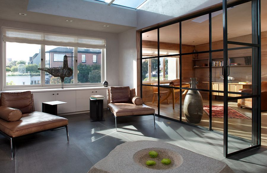 Separate Social Spaces With Glass Walls