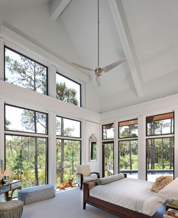 1  Lots of natural light. 10 Reasons Why Bedrooms With Large Windows Are Awesome