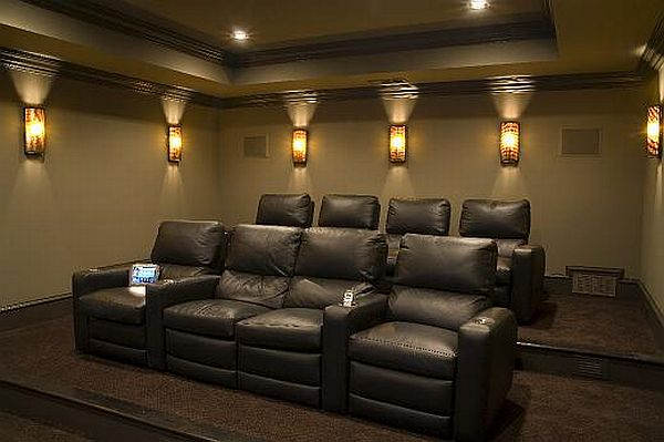 how to choose the perfect home theater seating. Black Bedroom Furniture Sets. Home Design Ideas