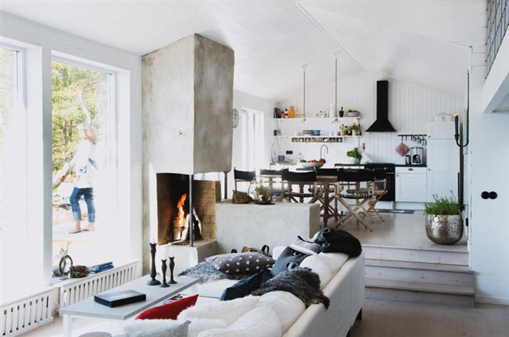 How to choose a fireplace for kitchen view in gallery teraionfo