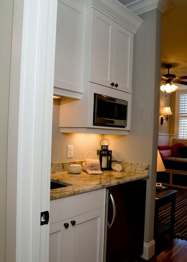 The differences between a kitchen and a kitchenette for Kitchenette design ideas