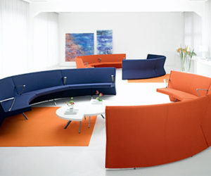 Ylo-Circular Sofa Sectional by Lamm