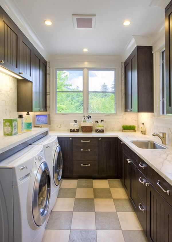 How To Decorate The Laundry Room