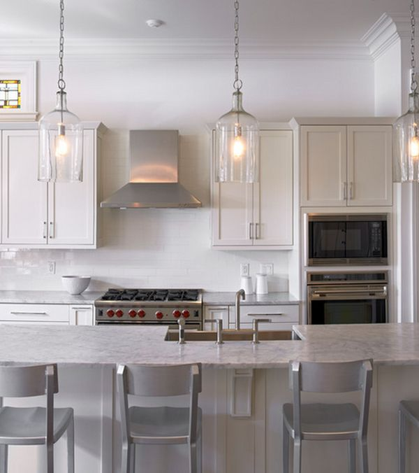 Tips on how you can improve your kitchen design with lights for Bright kitchen light fixtures