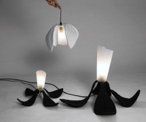 Foldable Flower Home Lighting Fixtures