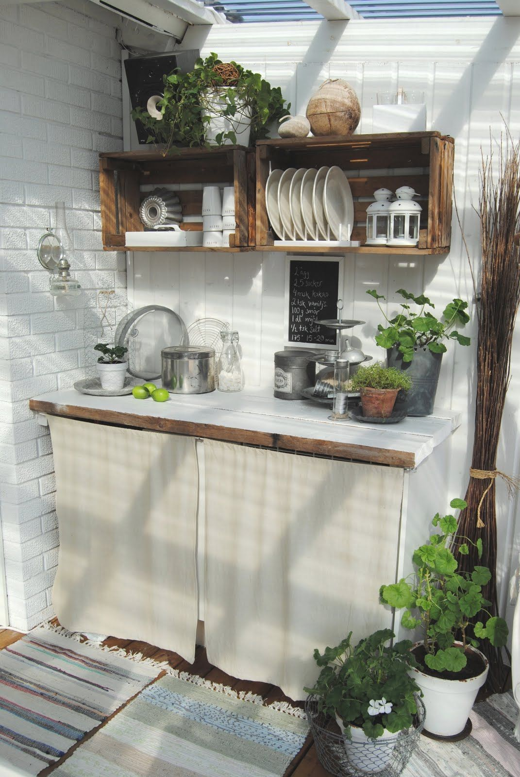 How to build outdoor kitchen cabinets - Cocinas de ladrillo rustico ...
