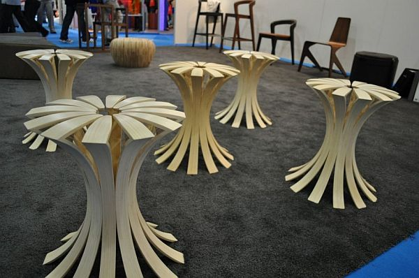 The Design Of The Spring Stool Created By Erik Jansen Was Based On These  Ideas.The Image Of These Stools Can Be Associated With A Field Of Flowers  Which ...