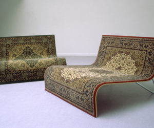 Magic Flying Carpet Sofa by Tonio de Roover