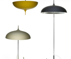 Funny Umbrella Lamps by Marie- Louise Gustafsson