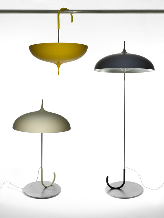 Funny Umbrella Lamps By Marie  Louise Gustafsson Amazing Design