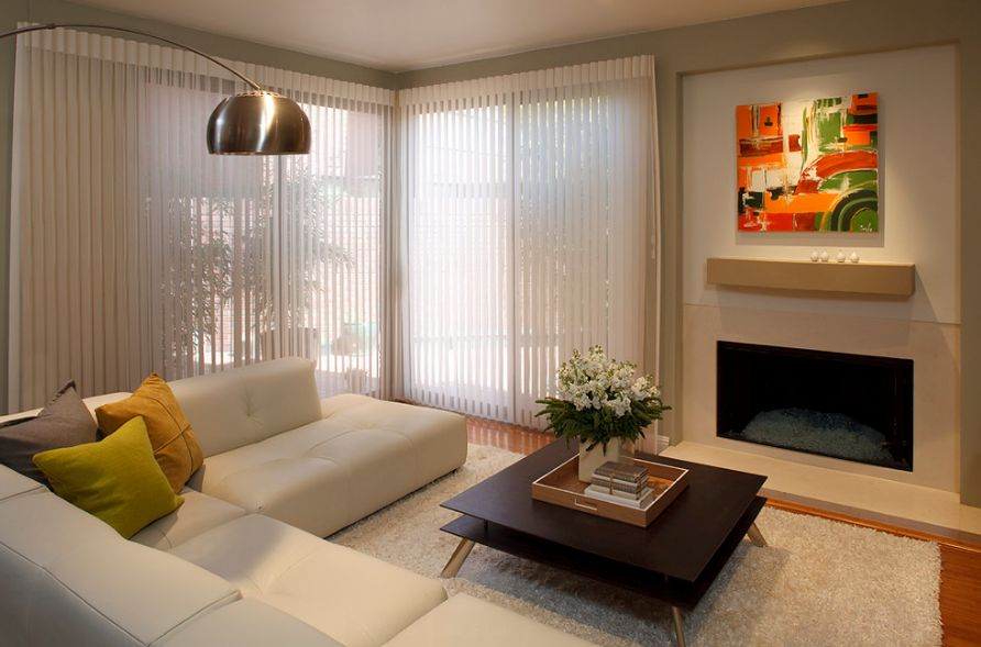 Types of window blinds for Types of living room windows
