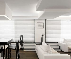 White Apartment Interior Design in Paris
