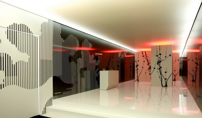 Printed Backlit Decorative Wall Panels From Barrisol