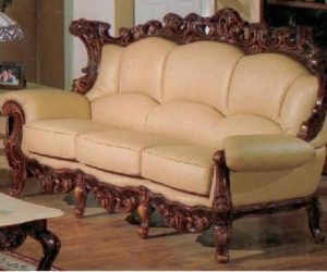 ... Exquisite Victorian Style Leather Sofas