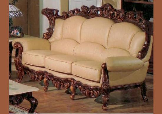 Attrayant Exquisite Victorian Style Leather Sofas