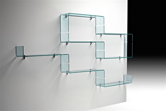 Nuvola Hanging Glass Shelves · View In Gallery Part 31