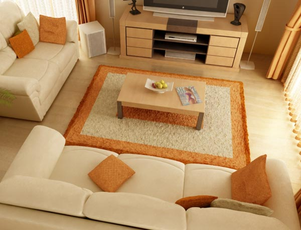 How To Arrange The Furniture In The Livingroom
