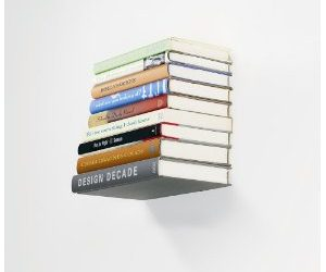 Conceal Shelf – Invisible Bookshelf from Umbra