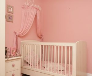 Pink and White Room for Your Baby Girl