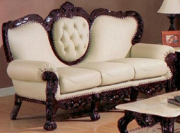 Exquisite Victorian Style Leather Sofas - Fina-leather-sofa-by-athomeusa