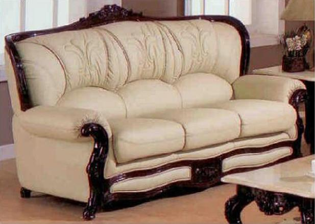 Exquisite Victorian Style Leather Sofas