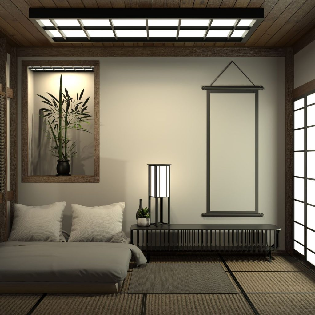 Embrace Minimalism With a Less is More Concept japanese bedroom