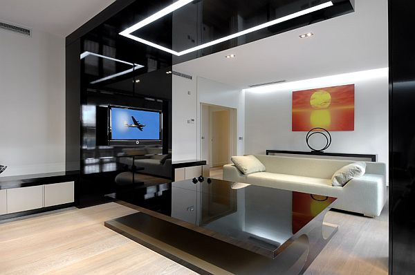 High Quality Modern Apartment Remodeled Interiors By A Cero Design Ideas