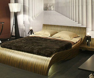 Wavy Bedroom Furniture by Thomas De Lussac Sarl
