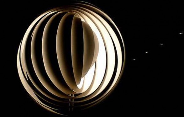 Romantic Moon Phases Lamp By Verner Panton